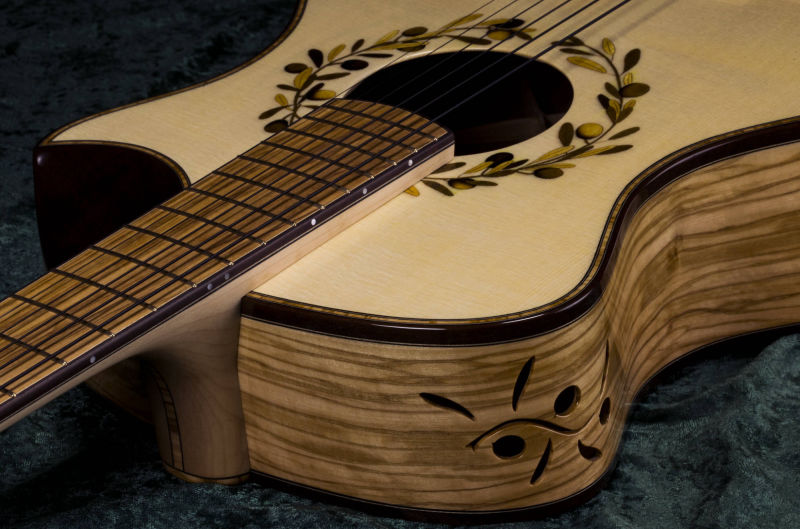 Penelope 000 Olivewood and Italian Spruce Guitar