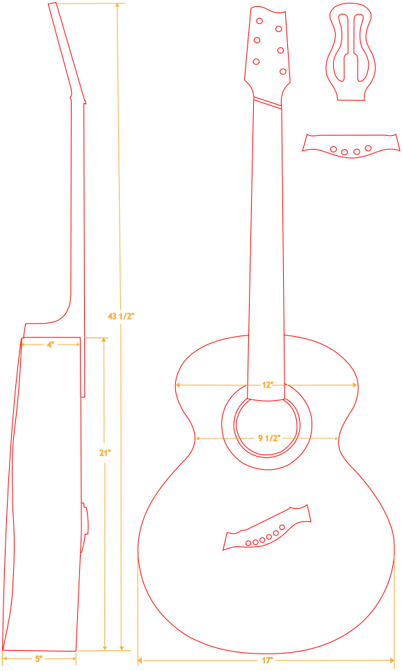 Bacchus Baritone Schematic with Options